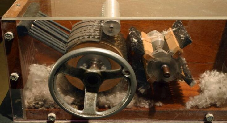Who Invented The Cotton Gin?