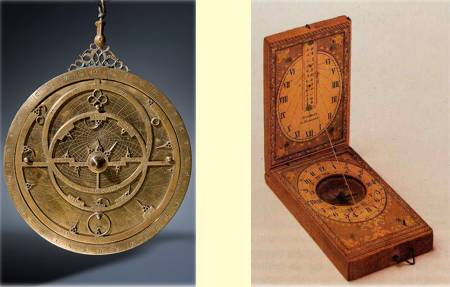 Medieval Europe Compass