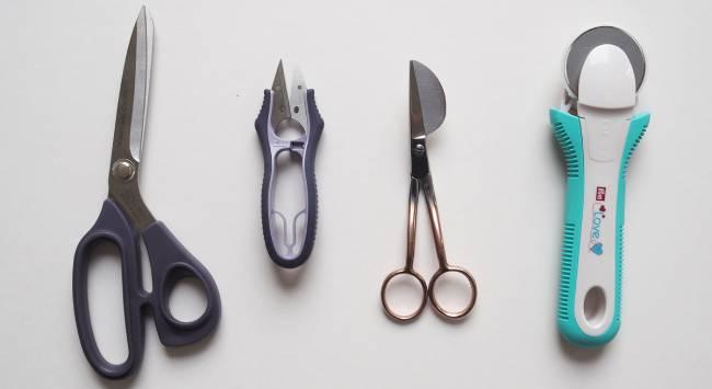 Differnt types of Scissors