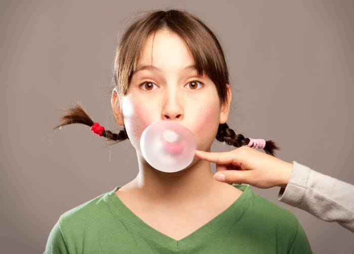 Who invented chewing gum